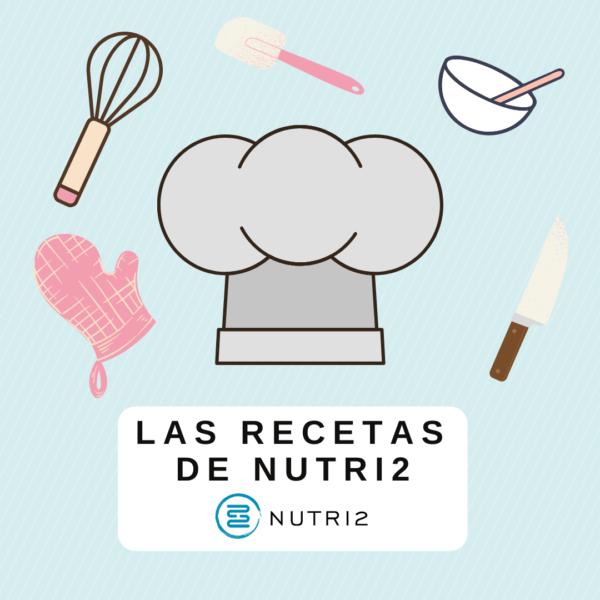 Portada Ebook - Las Recetas de Nutri2